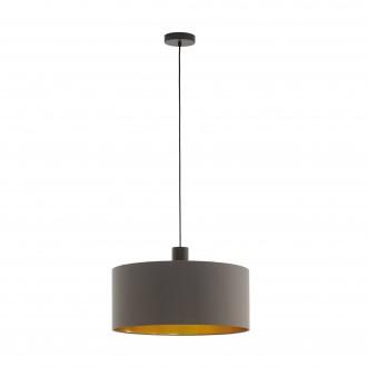 EGLO 97683   Concessa Eglo visilice svjetiljka 1x E27 kapuchino, zlatno