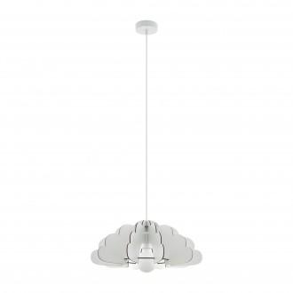 EGLO 97701 | Chieti Eglo visilice svjetiljka 1x E27 bijelo