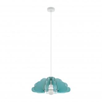 EGLO 97703 | Chieti Eglo visilice svjetiljka 1x E27 menta