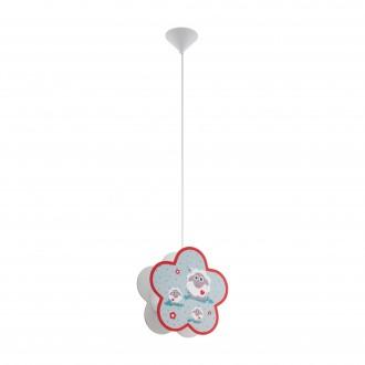 EGLO 97706   Lalelu Eglo visilice svjetiljka 1x E27 bijelo, u bojama
