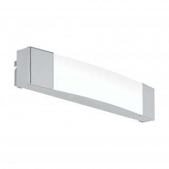 EGLO 97718 | Siderno Eglo ovetljenje ogledala svjetiljka 1x LED 900lm 4000K IP44 krom, saten
