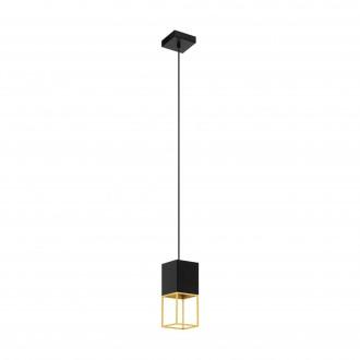 EGLO 97733 | Montebaldo Eglo visilice svjetiljka 1x GU10 400lm 3000K crno, zlatno