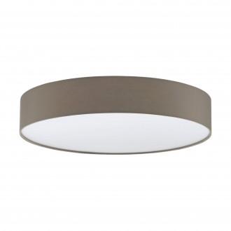 EGLO 97778 | Romao-3 Eglo stropne svjetiljke svjetiljka daljinski upravljač jačina svjetlosti se može podešavati, sa podešavanjem temperature boje 1x LED 4000lm 3000 <-> 5000K bijelo, taupe