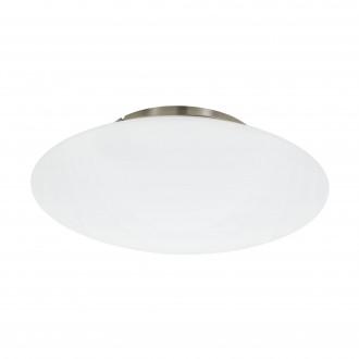 EGLO 97811 | EGLO-Connect-Frattina Eglo stropne svjetiljke smart rasvjeta jačina svjetlosti se može podešavati, sa podešavanjem temperature boje, promjenjive boje 1x LED 3400lm 2700 <-> 6500K poniklano mat, bijelo