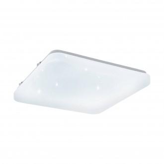 EGLO 97881 | Frania-S Eglo zidna, stropne svjetiljke svjetiljka četvrtast 1x LED 1350lm 3000K bijelo, učinak kristala