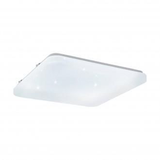 EGLO 97882 | Frania-S Eglo zidna, stropne svjetiljke svjetiljka četvrtast 1x LED 2000lm 3000K bijelo, učinak kristala