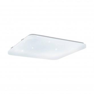 EGLO 97883 | Frania-S Eglo zidna, stropne svjetiljke svjetiljka četvrtast 1x LED 3900lm 3000K bijelo, učinak kristala
