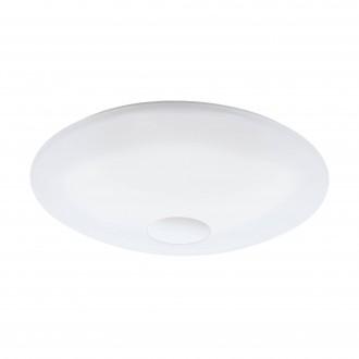 EGLO 97918 | EGLO-Connect-Totari Eglo stropne svjetiljke smart rasvjeta daljinski upravljač jačina svjetlosti se može podešavati, sa podešavanjem temperature boje, promjenjive boje 1x LED 5400lm 2700 <-> 6500K bijelo, krom