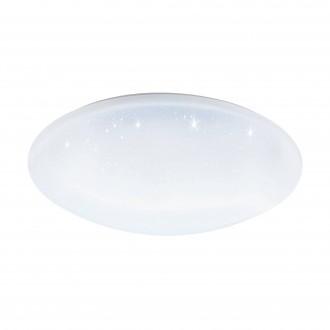 EGLO 97922 | EGLO-Connect-Totari Eglo stropne svjetiljke smart rasvjeta daljinski upravljač jačina svjetlosti se može podešavati, sa podešavanjem temperature boje, promjenjive boje 1x LED 5400lm 2700 <-> 6500K bijelo, učinak kristala