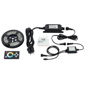 EGLO 97925 | Led-Stripes-Flex Eglo LED traka svjetiljka daljinski upravljač s utičnicom 1x LED 600lm 2700<->6500K IP44 prozirno