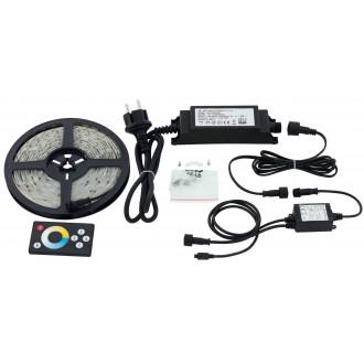 EGLO 97926 | Led-Stripes-Flex Eglo LED traka svjetiljka daljinski upravljač s utičnicom 1x LED 1000lm 2700<->6500K IP44 prozirno