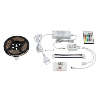 EGLO 97927 | Led-Stripes-Flex Eglo LED traka svjetiljka s utičnicom 1x LED 600lm RGBK prozirno