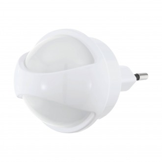EGLO 97933 | Tineo Eglo orientciona rasvjeta svjetiljka sa senzorom utična svjetiljka 1x LED 3lm 3000K bijelo