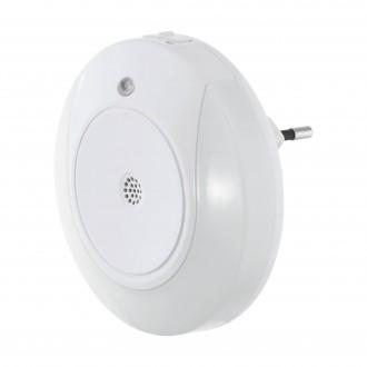 EGLO 97934 | Tineo Eglo orientciona rasvjeta svjetiljka sa senzorom utična svjetiljka 2x LED 8lm 3000K bijelo