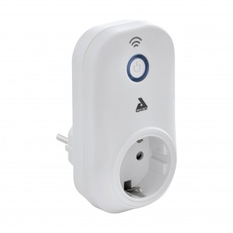 EGLO 97936 | Eglo kontrolna jedinica Plug Plus smart rasvjeta s prekidačem s utičnicom, spajanje na Wi-Fi, Bluetooth bijelo