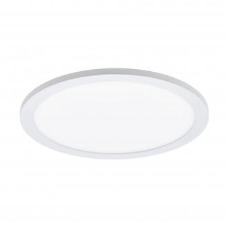 EGLO 97958 | EGLO-Connect-Sarsina Eglo stropne svjetiljke smart rasvjeta daljinski upravljač jačina svjetlosti se može podešavati, sa podešavanjem temperature boje, promjenjive boje 1x LED 2100lm 2700 <-> 6500K bijelo