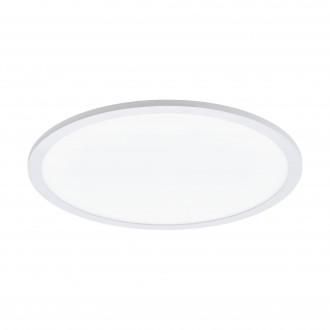 EGLO 97959 | EGLO-Connect-Sarsina Eglo stropne svjetiljke smart rasvjeta daljinski upravljač jačina svjetlosti se može podešavati, sa podešavanjem temperature boje, promjenjive boje 1x LED 2900lm 2700 <-> 6500K bijelo