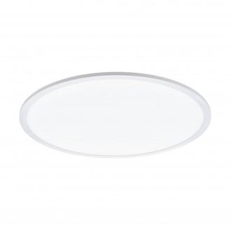 EGLO 97961 | EGLO-Connect-Sarsina Eglo stropne svjetiljke smart rasvjeta daljinski upravljač jačina svjetlosti se može podešavati, sa podešavanjem temperature boje, promjenjive boje 1x LED 4250lm 2700 <-> 6500K bijelo