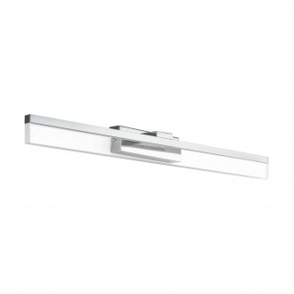 EGLO 97966 | Palmital Eglo zidna svjetiljka 1x LED 1300lm 3000K IP44 krom, prozirna