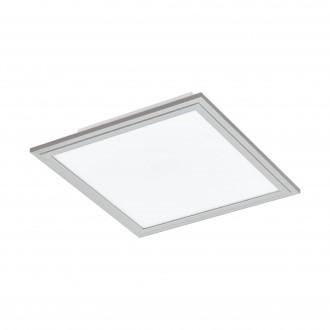 EGLO 98036 | Salobrena-2 Eglo stropne svjetiljke LED panel četvrtast jačina svjetlosti se može podešavati 1x LED 2100lm 4000K sivo, bijelo