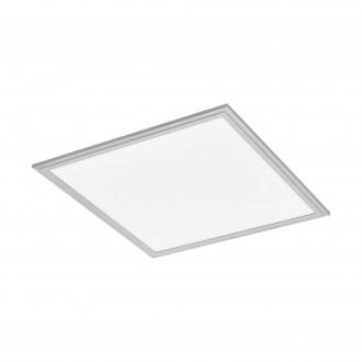 EGLO 98037 | Salobrena-2 Eglo stropne svjetiljke LED panel četvrtast jačina svjetlosti se može podešavati 1x LED 3000lm 4000K sivo, bijelo