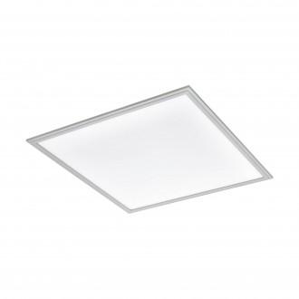 EGLO 98038 | Salobrena-2 Eglo stropne svjetiljke LED panel četvrtast jačina svjetlosti se može podešavati 1x LED 4200lm 4000K sivo, bijelo