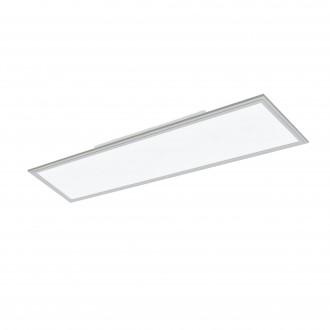 EGLO 98039 | Salobrena-2 Eglo stropne svjetiljke LED panel pravotkutnik jačina svjetlosti se može podešavati 1x LED 5200lm 4000K sivo, bijelo