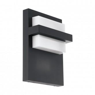 EGLO 98088   Culpina Eglo zidna svjetiljka 1x LED 830lm 3000K IP44 antracit, bijelo