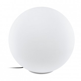 EGLO 98108 | EGLO-Connect-Monterolo Eglo dekoracija smart rasvjeta kuglasta jačina svjetlosti se može podešavati, sa podešavanjem temperature boje, promjenjive boje, sa kablom i vilastim utikačem 1x E27 806lm 2700 <-> 6500K IP65 bijelo