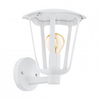 EGLO 98115   Monreale Eglo zidna svjetiljka 1x E27 IP44 bijelo, prozirno