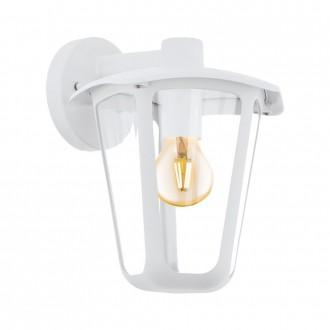 EGLO 98116   Monreale Eglo zidna svjetiljka 1x E27 IP44 bijelo, prozirno
