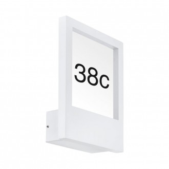EGLO 98143 | Monteros Eglo zidna svjetiljka 1x E27 IP44 bijelo