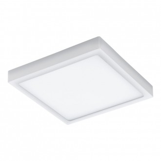 EGLO 98172 | EGLO-Connect-Argolis Eglo zidna, stropne svjetiljke smart rasvjeta četvrtast jačina svjetlosti se može podešavati, sa podešavanjem temperature boje 1x LED 2600lm 2700 <-> 6500K IP44 bijelo