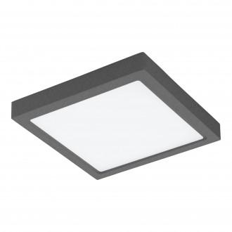 EGLO 98174 | EGLO-Connect-Argolis Eglo zidna, stropne svjetiljke smart rasvjeta četvrtast jačina svjetlosti se može podešavati, sa podešavanjem temperature boje 1x LED 2600lm 2700 <-> 6500K IP44 antracit, bijelo