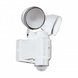 EGLO 98194   Casabas Eglo zidna svjetiljka sa senzorom baterijska/akumulatorska, elementi koji se mogu okretati 2x LED 800lm 6500K IP44 bijelo, saten