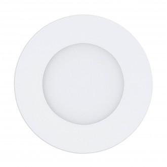 EGLO 98212 | EGLO-Access-Fueva Eglo ugradbene svjetiljke Access LED panel okrugli daljinski upravljač jačina svjetlosti se može podešavati, sa podešavanjem temperature boje, timer, noćno svjetlo Ø120mm 1x LED 700lm 2700 <-> 6500K bijelo