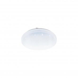 EGLO 98294   EGLO-Access-Frania Eglo stropne svjetiljke Access svjetiljka okrugli daljinski upravljač jačina svjetlosti se može podešavati, sa podešavanjem temperature boje, timer, noćno svjetlo 1x LED 3300lm 2700 <-> 6500K IP44 bijelo, učinak krist