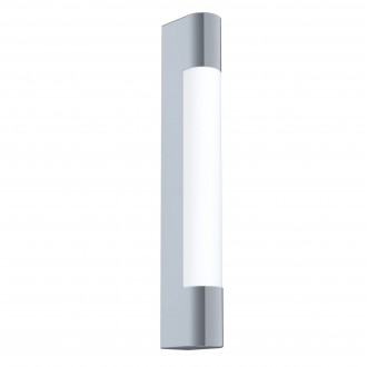 EGLO 98442   Tragacete Eglo zidna svjetiljka oblik cigle 1x LED 770lm 4000K IP44 krom, bijelo