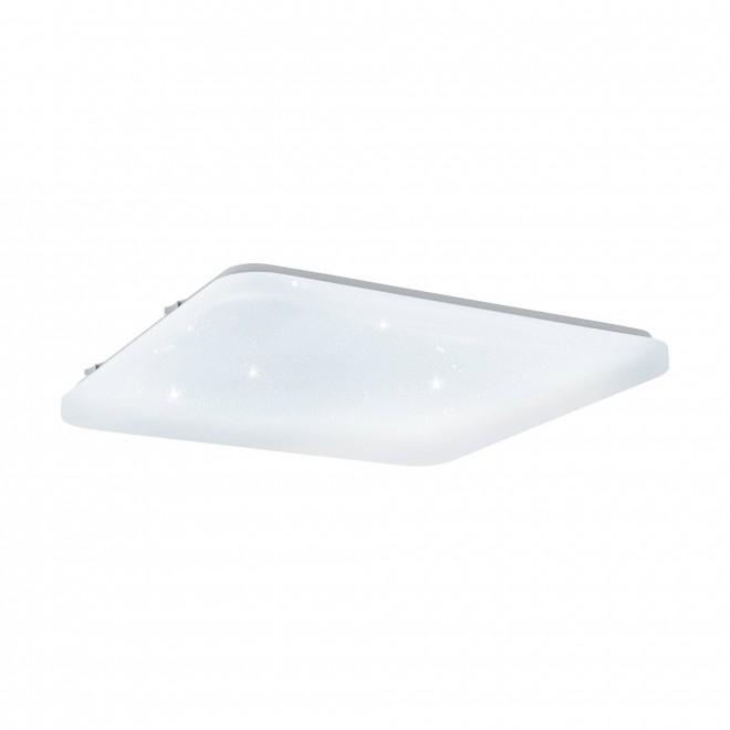 EGLO 98449 | Frania-S Eglo stropne svjetiljke svjetiljka četvrtast 1x LED 5700lm 3000K bijelo, učinak kristala