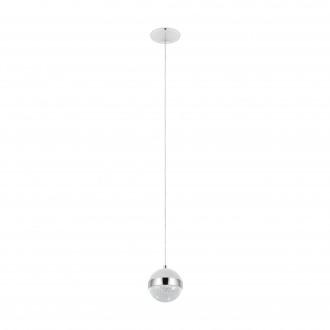 EGLO 98556 | Licoroto Eglo visilice svjetiljka 1x G9 360lm 3000K krom, saten, učinak kristala
