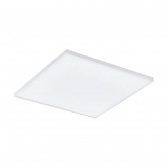 EGLO 98563 | EGLO-Connect-Turcona Eglo stropne svjetiljke smart rasvjeta četvrtast daljinski upravljač jačina svjetlosti se može podešavati, sa podešavanjem temperature boje, promjenjive boje 1x LED 2950lm 2700 <-> 6500K bijelo