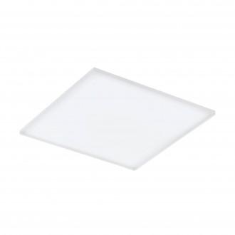 EGLO 98564 | EGLO-Connect-Turcona Eglo stropne svjetiljke smart rasvjeta četvrtast daljinski upravljač jačina svjetlosti se može podešavati, sa podešavanjem temperature boje, promjenjive boje 1x LED 4300lm 2700 <-> 6500K bijelo