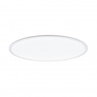EGLO 98566 | EGLO-Connect-Sarsina Eglo stropne svjetiljke smart rasvjeta okrugli daljinski upravljač jačina svjetlosti se može podešavati, sa podešavanjem temperature boje, promjenjive boje 1x LED 5500lm 2700 <-> 6500K bijelo