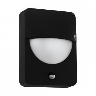 EGLO 98705   Salvanesco Eglo zidna svjetiljka sa senzorom 1x LED IP44 crno, bijelo