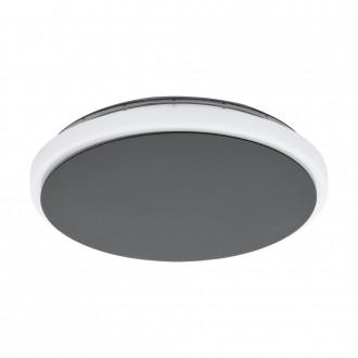 EGLO 98712 | Mongodio Eglo zidna, stropne svjetiljke svjetiljka 1x LED 1450lm 3000K IP44 antracit, bijelo