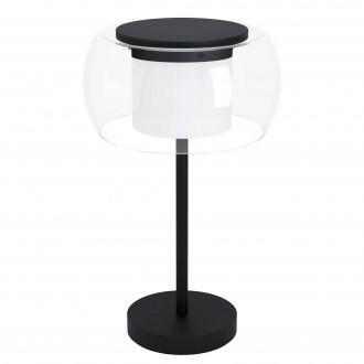 EGLO 99024 | EGLO-Connect-Briaglia Eglo stolna smart rasvjeta 51cm sa prekidačem na kablu jačina svjetlosti se može podešavati, sa podešavanjem temperature boje, promjenjive boje, može se upravljati daljinskim upravljačem 1x LED 1850lm 2700 <-> 6500