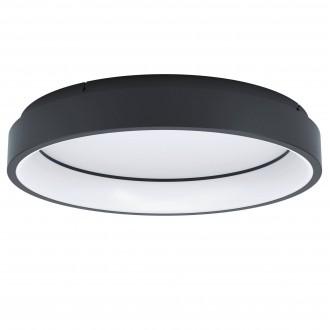 EGLO 99026 | EGLO-Connect-Marghera Eglo stropne svjetiljke smart rasvjeta okrugli jačina svjetlosti se može podešavati, sa podešavanjem temperature boje, promjenjive boje, može se upravljati daljinskim upravljačem 1x LED 3200lm 2700 <-> 6500K crno,