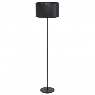 EGLO 99046 | Eglo-Maserlo-B Eglo podna svjetiljka 51,5cm sa nožnim prekidačem 1x E27 crno
