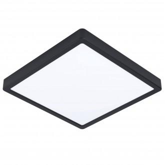 EGLO 99271   Fueva-5 Eglo zidna, stropne svjetiljke LED panel četvrtast 1x LED 2300lm 3000K IP44 crno, bijelo