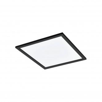 EGLO 99416 | EGLO-Connect-Salobrena Eglo spušteni plafon, stropne svjetiljke, visilice smart rasvjeta četvrtast daljinski upravljač jačina svjetlosti se može podešavati, sa podešavanjem temperature boje, promjenjive boje 1x LED 2800lm 2700 <-> 6500K